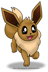 Eevee by AleximusPrime