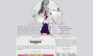 Glamour Factory version 002# with Cara Delevingne by Efruse