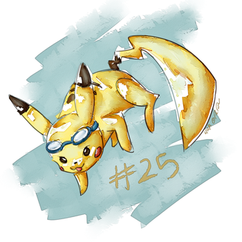 Pikachu by Remember2fly1