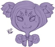 Muffet (WIP) by PuddingOfDeath