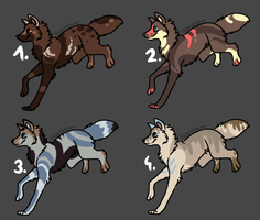 adoptables [closed] by Lysonu---Adopts