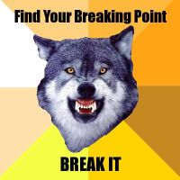 Courage Wolf: Breaking Point by Jourdy288