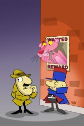 Pink Panther #3 Cover Art by toonbaboon