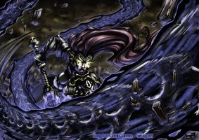 Darksiders_Fury_color by ArtofDPI