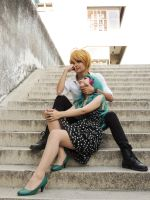 Haruka x Michiru - Cosplay Session 06 by Bahamut-Eternal