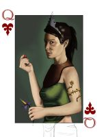 Queen of Hearts by Kaiazes