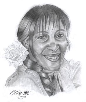 Pamela in Pencil by Ksoto