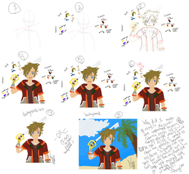 My process for creating art in MS Paint by AngeluskittyII