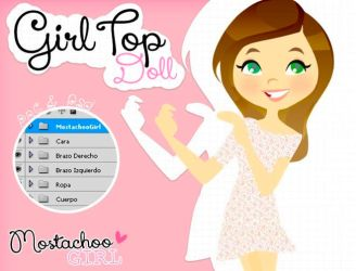 GirlTop Doll by MostachooGirl