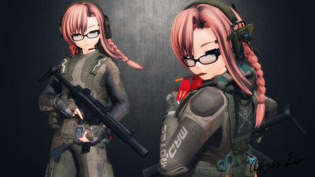 [MMD] Kira Hunters by AbyssLeo