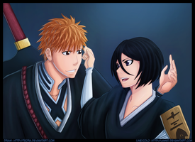 Rukia is back by Law67