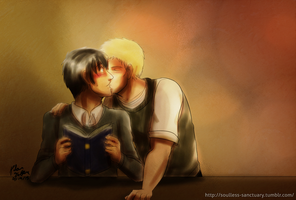 SnK: ReiBert by witch-girl-pilar