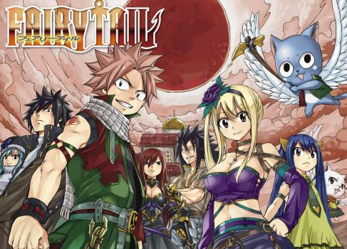 Fairy Tail 522 Color Cleaning Writt by Ulquiorra90