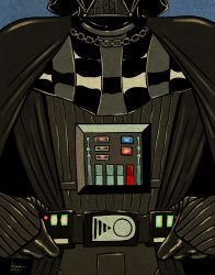 Nostalgic series - Darth Vader! by ArtNomad