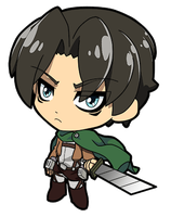 Attack on Titan Levi by JoeOiii