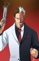 Two-face by phil-cho