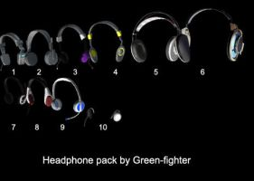 Headphone pack 1+DL by Fina-Nz