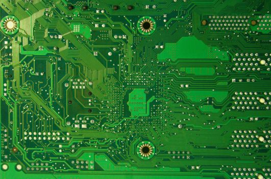 computer Texture Motherboard tech Circut green by TextureX-com