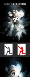 Dust Explosion - Photoshop Action by Lyova12