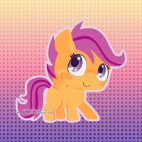 Scootaloo by Miss-Glitter