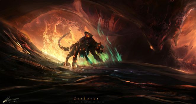 Cerberus by GuilleBot