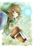 [ Legend of Zelda - Link Chibi ] by Seiirei