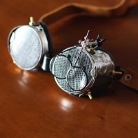 mister the fly with lents -  steampunk goggles by dear-dead-ofelia