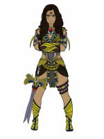 Akila. POWER RANGERS ANCIENT AGE by Eddmspy