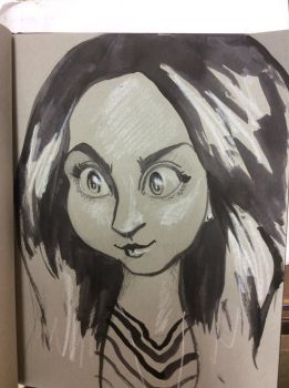 RGD Stare for baph0mette by charlando