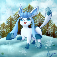 Glaceon by Miryusune
