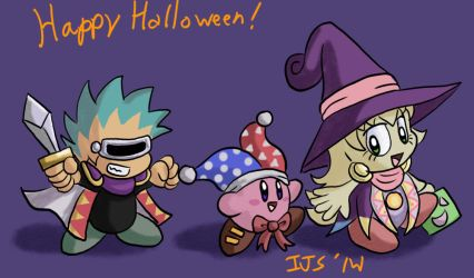 Happy Halloween in Pupupuland by IvynaJSpyder