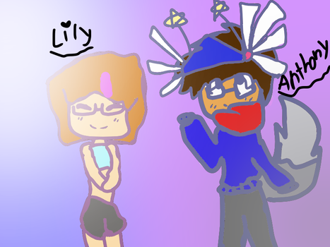 Lily and Anthony Q  A by MusicalxKitten