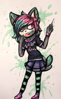 I think you're crazy to by GlichieVirus