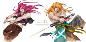 Leon and Abel by evilwinnie