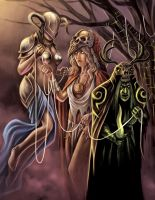 Norns by timswit