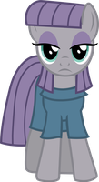 Maud Pie (fire her in eyes vector) by davidsfire
