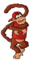 The Diddy Kong by FiRE-MUNki