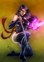 Psylocke colors by FantasticMystery