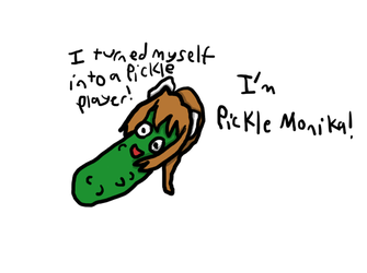 Pickle Monika, but somehow even worse by zambrony