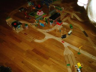 Old Train Layout Picture 1 by Eli-J-Brony