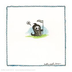 mega mini reaper by katiecandraw