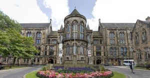 University of Glasgow - north front by sequential