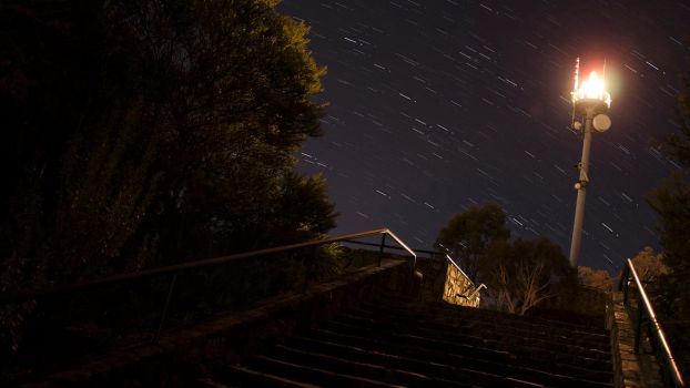 Mt. Ainslie Startrails by DOOMGUY1001