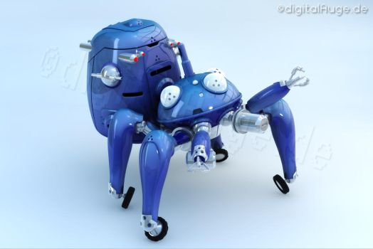 Ghost in the shell - Tachikoma 3D 2 by digitalAuge