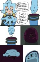 Never shrink yourself to steal from a Gym Leader by GiantessUniverse