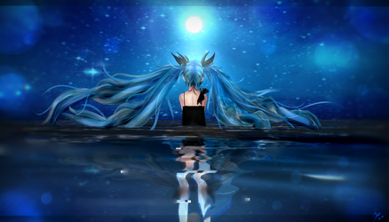 {MMD} .:Girl Of the Deep Sea:. by Pocky-Poison