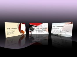 Bookkeeper BUSINESS CARD dsgns by PitPistolet