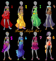 Winx Desert Adopts Set1 (CLOSED) by Woogyuxi