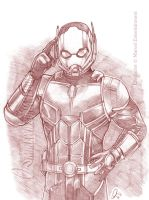 Ant Man 001 Small by mikewilsonart