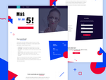 Crazy landing page by jozef89